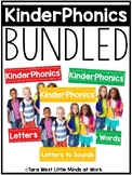 KinderPhonics® Kindergarten Phonics Curriculum Units 1-3 BUNDLED