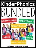 KinderPhonics® Kindergarten + Homeschool Phonics Curriculum UNITS 1-3 BUNDLED