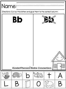 KinderPhonics® Units Home Connection