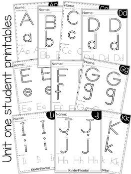 KinderPhonics® Units 1-3 FREE Sampler