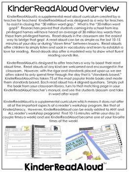 KinderReadAloud: Kindergarten Read Aloud Curriculum