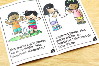 KinderReaders BUNDLED Fiction Levels NR, AA, A, B, C, D *ENGLISH AND SPANISH*