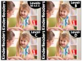 KinderReaders® BUNDLED Fiction Levels NR, AA, A, B, C, D *ENGLISH AND SPANISH*