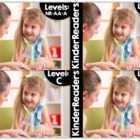 KinderReaders™ BUNDLED Levels NR, AA, A, B, C, D *ENGLISH AND SPANISH*