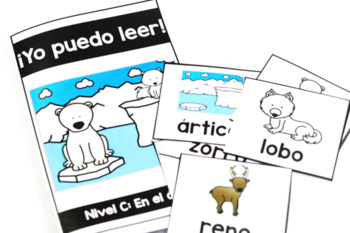KinderReaders Fiction LEVEL: C *ENGLISH AND SPANISH*