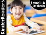 KinderReaders Nonfiction Level: A *ENGLISH AND SPANISH*