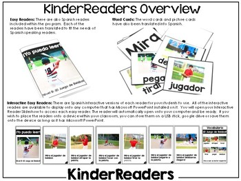 KinderReaders Nonfiction Level: B *ENGLISH AND SPANISH*