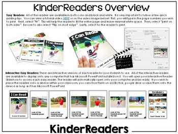 KinderReaders Nonfiction Level: B *ENGLISH AND SPANISH*