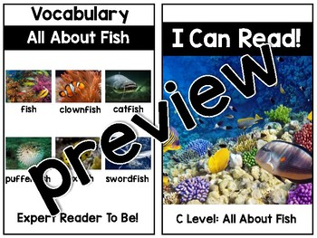 KinderReaders Nonfiction Level: C *ENGLISH AND SPANISH*