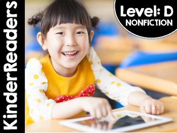 KinderReaders® Nonfiction Level: D *ENGLISH AND SPANISH*