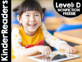 KinderReaders™ Nonfiction Level: D FREE PREVIEW *ENGLISH A