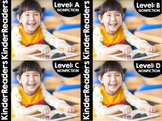 KinderReaders® Nonfiction Bundled A-D Distance Learning + Homeschool Compatible
