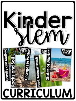 Kinder/FirstieSTEM Curriculum Bundle