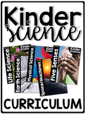 KinderScience® Kindergarten Science Curriculum  | Homeschool Compatible |