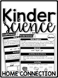KinderScience Kindergarten Science Curriculum Home Connection - Newsletters