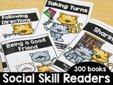 KinderSocialSkills: Social Skills Easy Readers *GROWING BUNDLE*