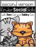 KinderSocialSkills Set 2:  Social Skill Curriculum GOOGLE™ READY Distance Learn