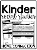 KinderSocialStudies Kindergarten Social Studies Home Connection- Newsletters