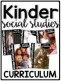 KinderSocialStudies™  Kindergarten Social Studies Curriculum SET TWO Bundle