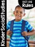 KinderSocialStudies™ Kindergarten Social Studies Unit One: Rules