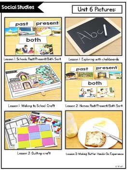KinderSocialStudies™ Kindergarten Social Studies Unit Six: Then and Now