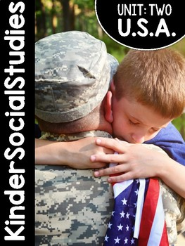 KinderSocialStudies™ Unit Two: United States and Communities