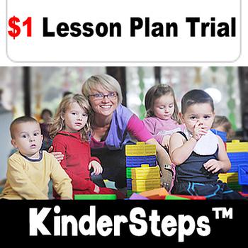 KinderSteps™ Pre-K/Kindergarten bundle - Trial Edition $1 for 5 Lessons