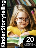 KinderStorytelling: Storytelling and Comprehension Curriculum