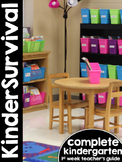 KinderSurvival: Kindergarten Back to School Curriculum