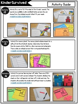 KinderSurvived: Kindergarten End of the Year Curriculum