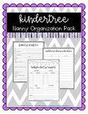KinderTree Nanny Organization Pack