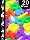 KinderWordFamilies™ Curriculum