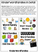 KinderWordFamilies Curriculum