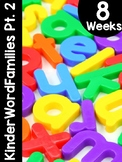 KinderWordFamilies™ Part 2 Word Families Curriculum