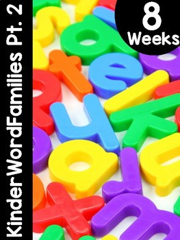 KinderWordFamilies™ Part 2 Curriculum
