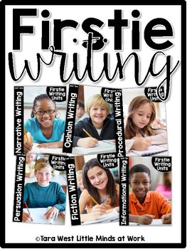 FirstieWriting: First Grade (and Second Grade) Writing Curriculum Units