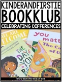 KinderandFirstie BookKlub: Celebrating Differences  | FREE