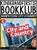 KinderandFirstieBookKlub NONFICTION: City and Country