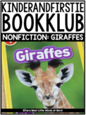 KinderandFirstieBookKlub NONFICTION: Giraffes