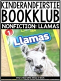 KinderandFirstieBookKlub NONFICTION: Llamas