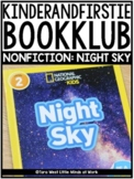 KinderandFirstieBookKlub NONFICTION: Night Sky