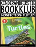 KinderandFirstieBookKlub NONFICTION: Turtles