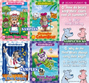 Kinderbears Collectible Cards-Single Set