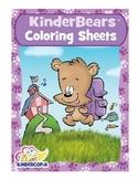 Kinderbears Coloring Sheets