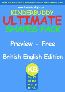 Kinderbuddy Ultimate Shape Pack (Kindergarten)