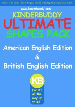 Kinderbuddy Ultimate Shape Pack (Kindergarten) K1 to K3