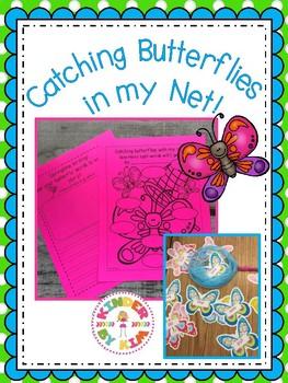 Kinderbykim's Catching Butterflies In My Net Sight Word Ac