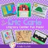 Kinderbykim's Eric Carle Themed Literacy Center Fun Pack