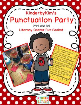 Kinderbykim's Punctuation Party!