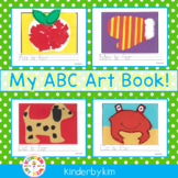 Kinderbykim's  My ABC Art Book!